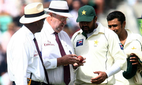 Pakistan team ball tampering
