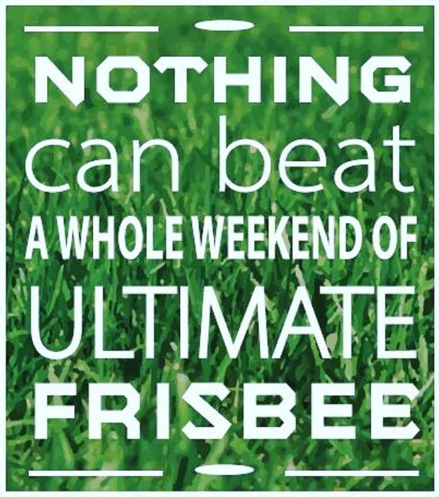 Being fit with Ultimate Frisbee