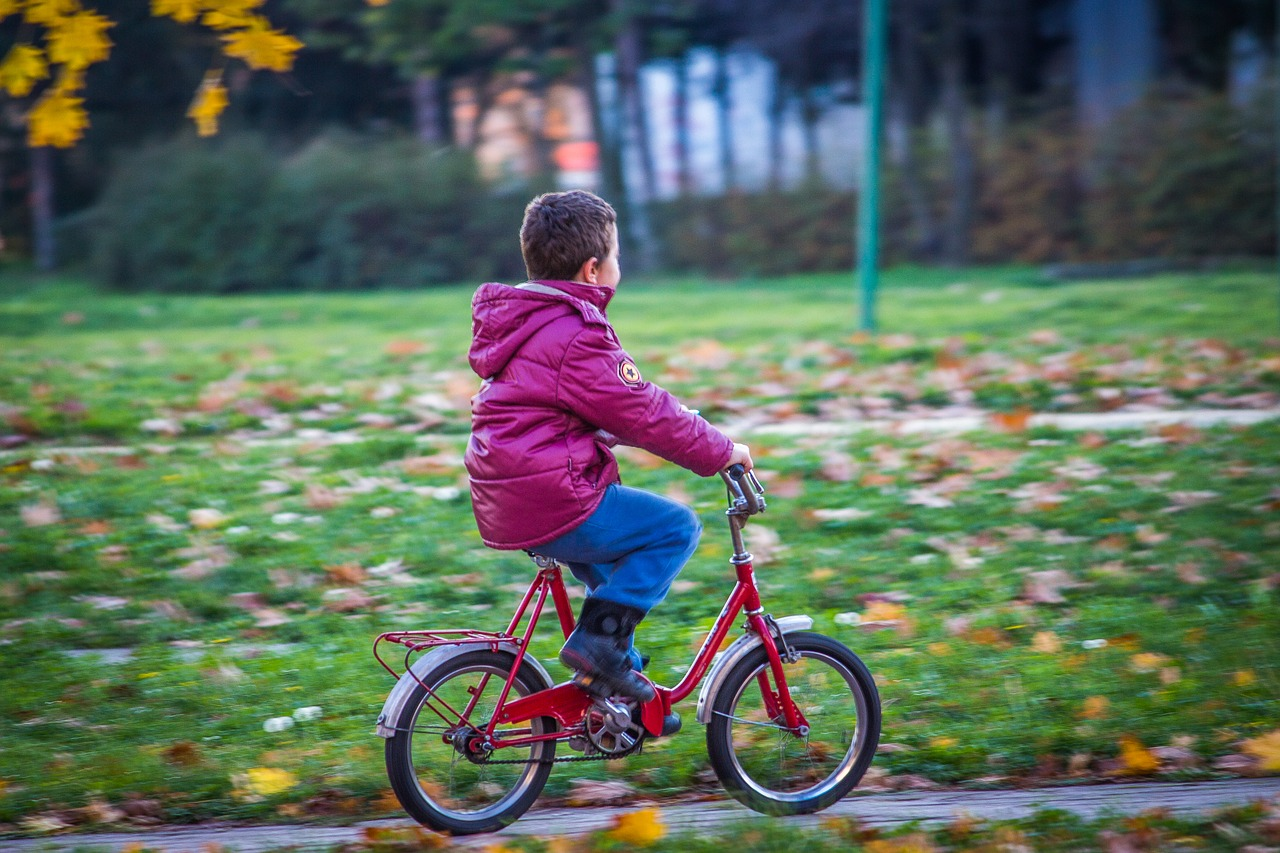 Autism Kids Cycling