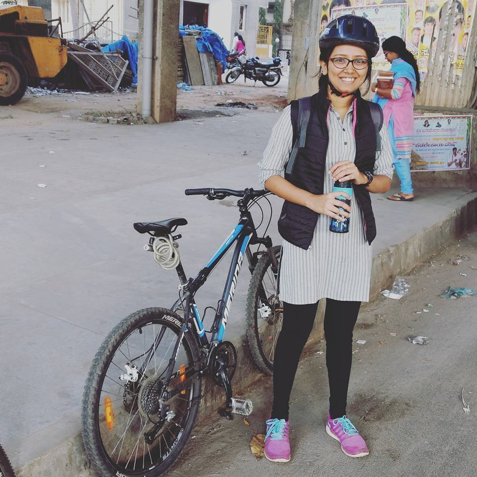 Cycling Is Arshi's Favourite Sport