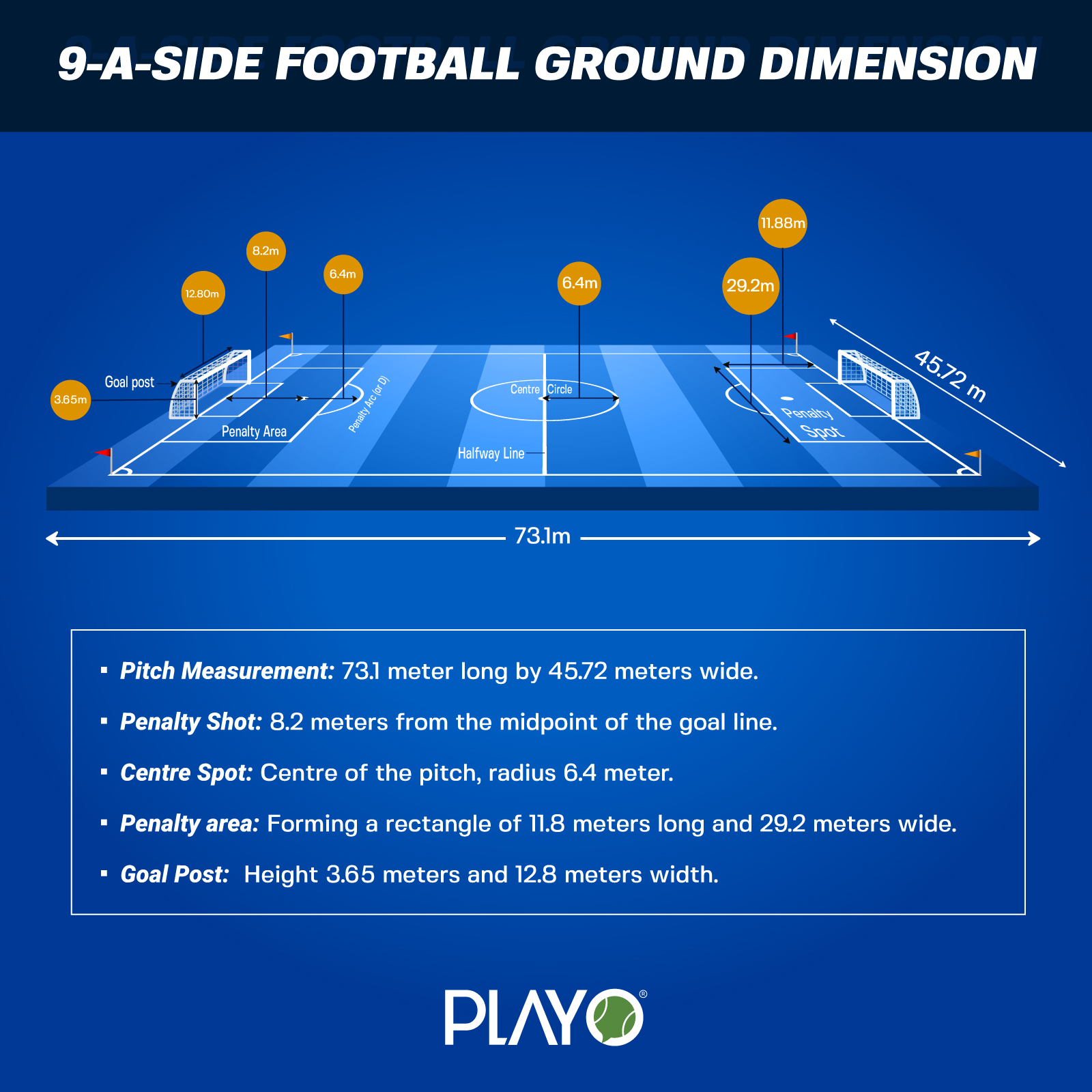 9-a-side dimensions