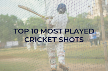 most played cricket shots
