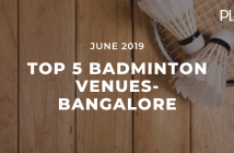 top 5 venues in bangalore badminton
