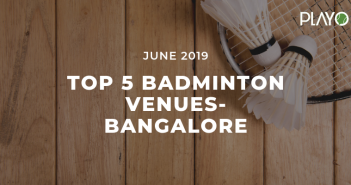 top 5 venues in bangalore badminton