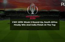 cricket world cup 2019 round up