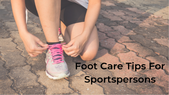 foot care for sportsperson
