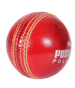 Puma Red Cricket Ball