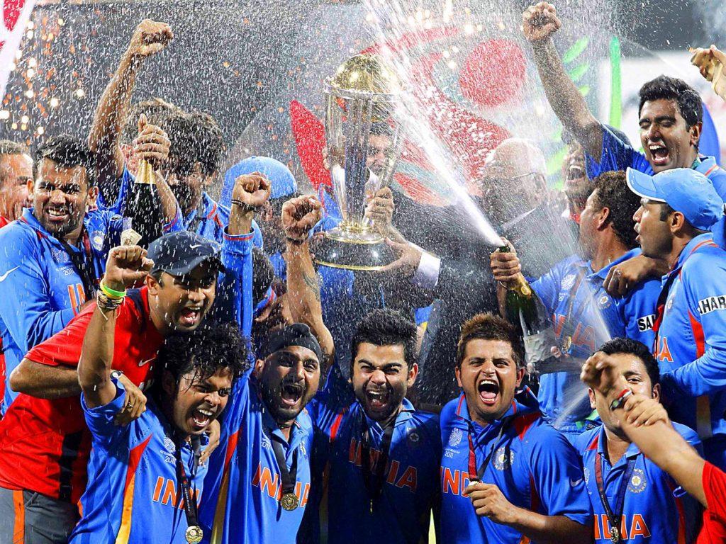 Team India celebrating