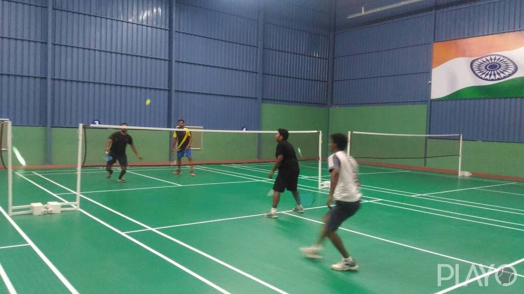 Badminton court in JSK
