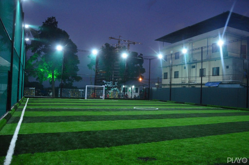 A football turf in Soccer Park