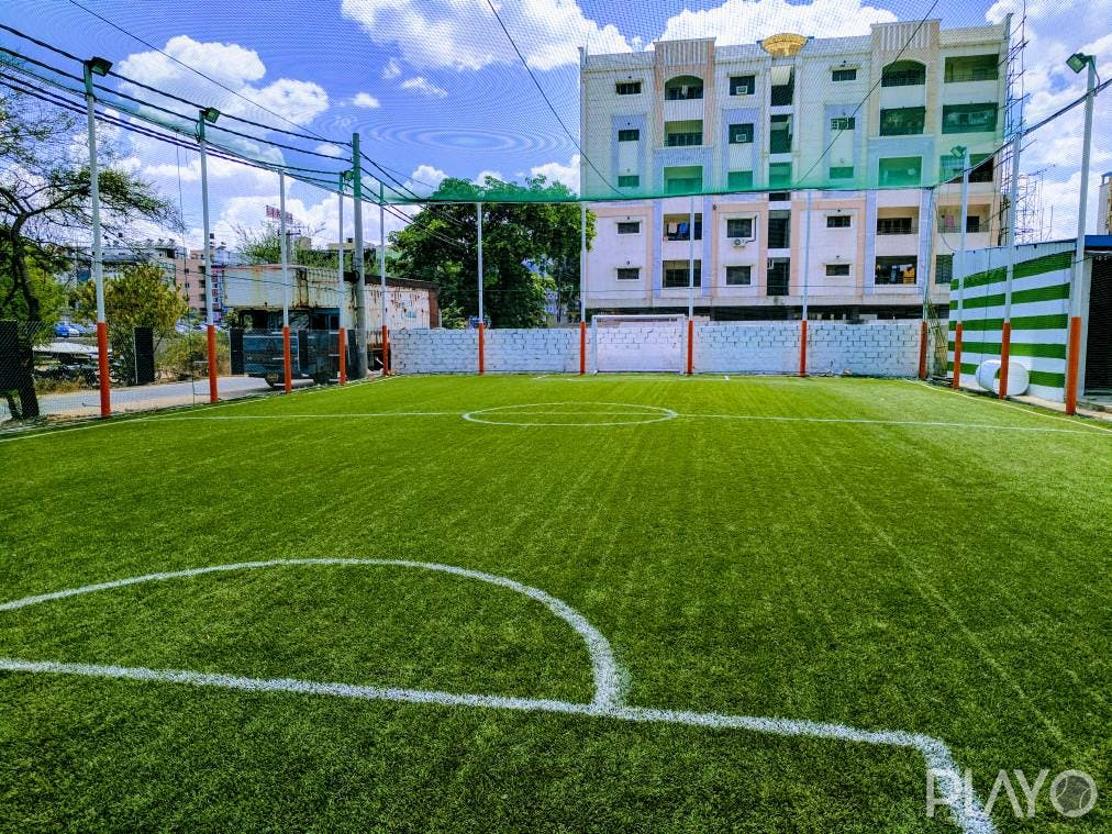 A football ground in Arena 48