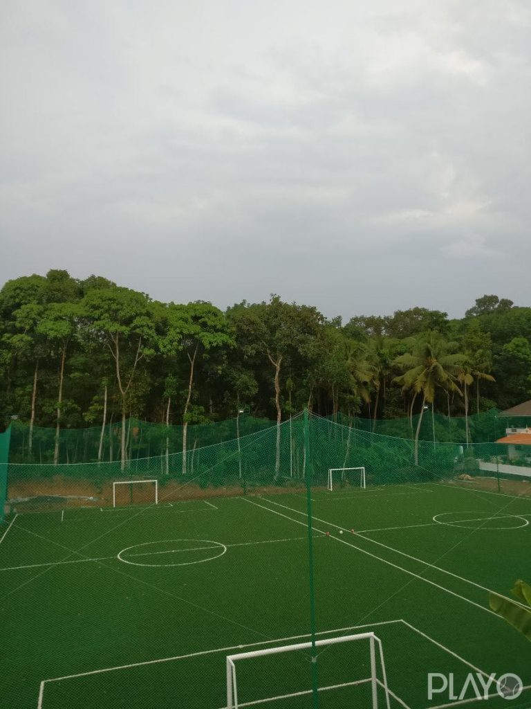 A football field in Go Play