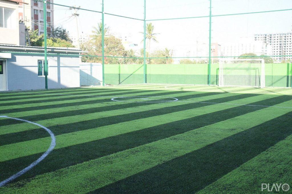 Football ground in I-Blitz