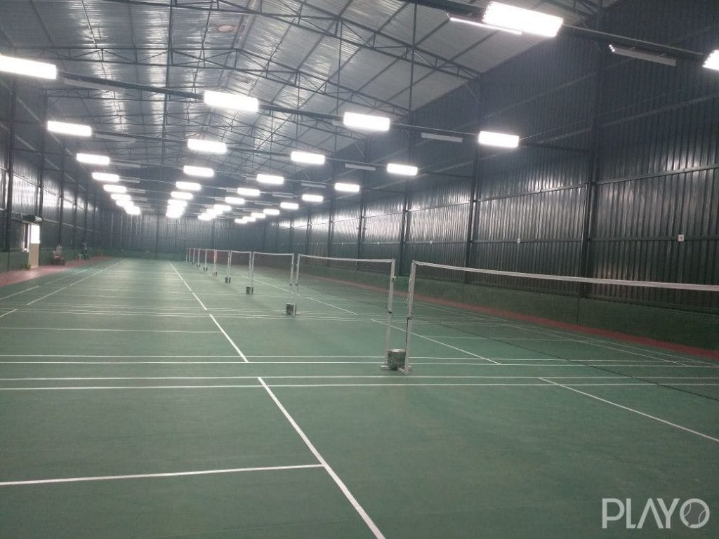 Badminton court in PlayTm