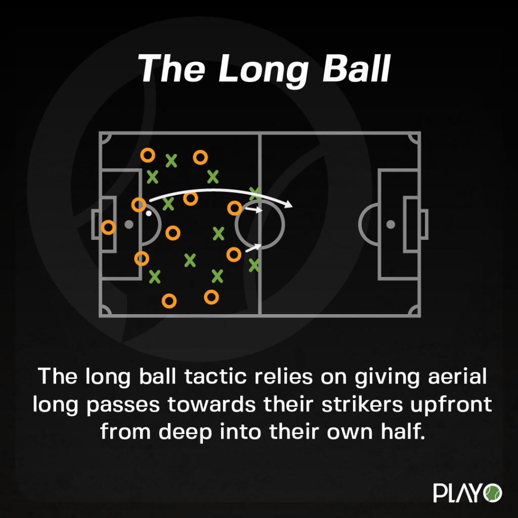 Long Ball tactics in Football
