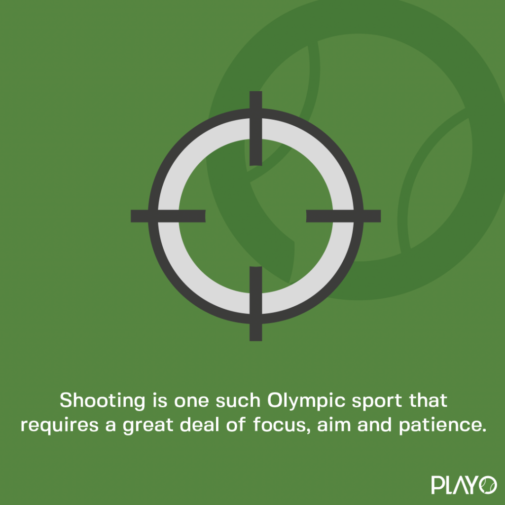 Shooting is one such Olympic sport that requires a great deal of focus, aim and patience.