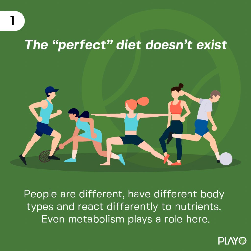 All people are different, have different body types and react differently to nutrients. Even metabolism plays a role here.