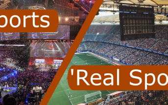 Real Sports Vs E-Sports
