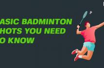 Basic Badminton shots