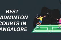 best Badminton courts in Bangalore