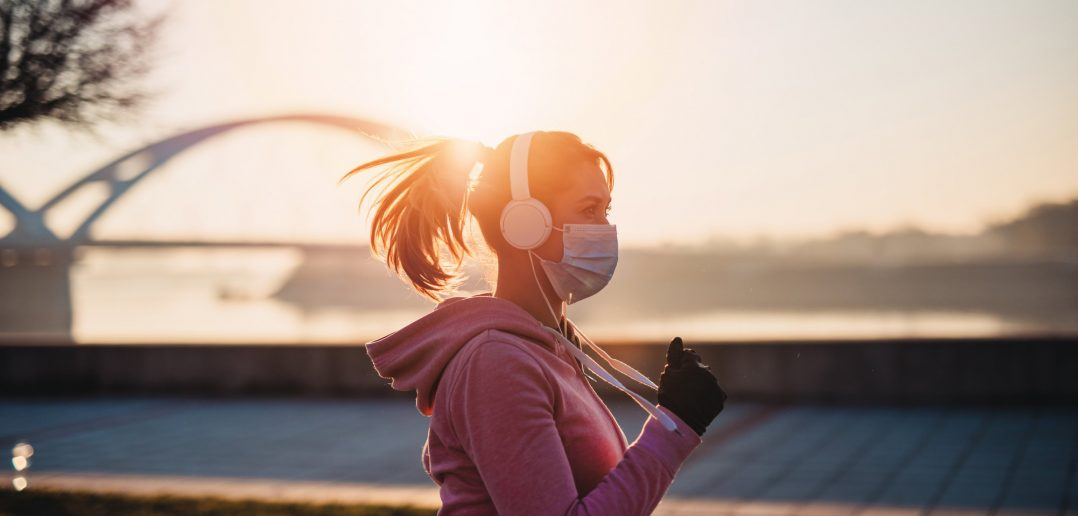 Is wearing a mask required while running
